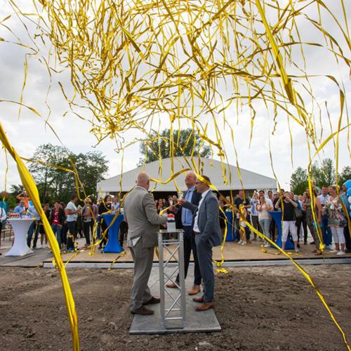 Bonifatiuspark nadert haar voltooiing