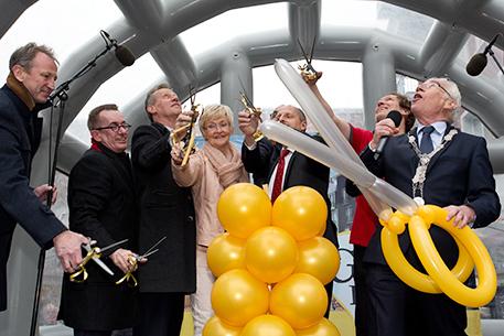 Winkelcentrum Gouweplein officieel geopend