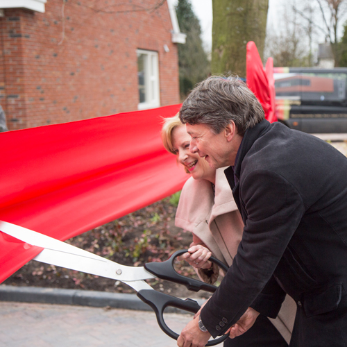 Opening van Wilhelminahof