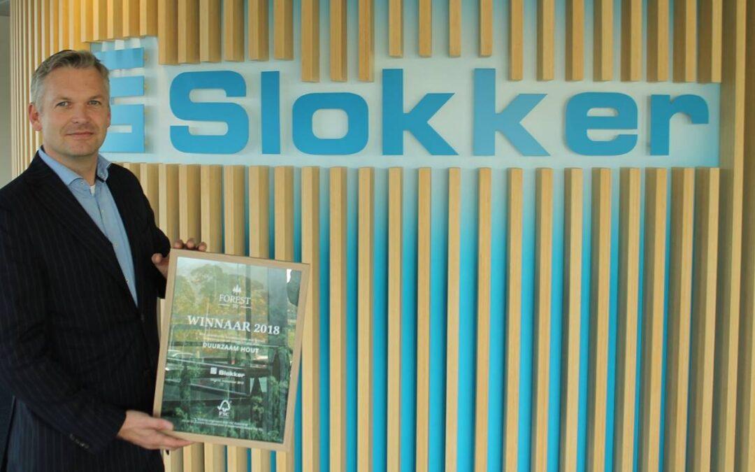 In 2019 gebruikt Slokker alleen nog FSC gecertificeerd hout