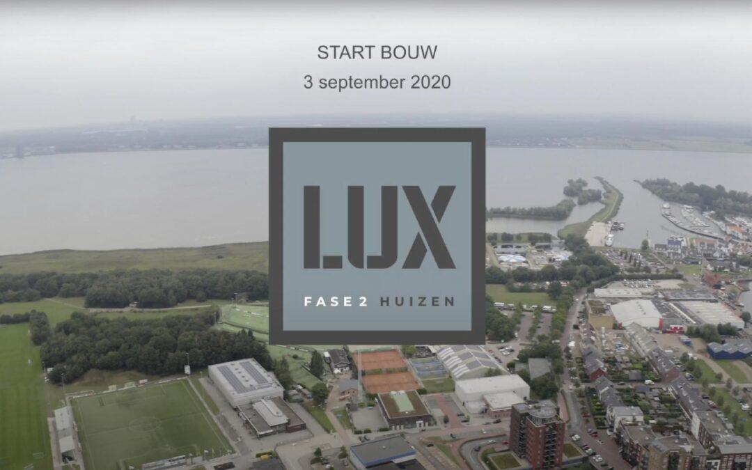 Start bouw LUX Huizen fase 2