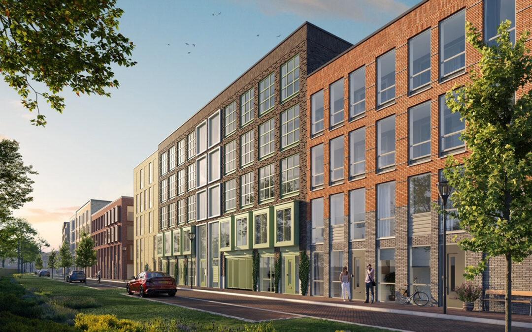 Ontwikkelcombinatie 023 verkoopt 96 appartementen in Haarlem aan Daelmans Vastgoed